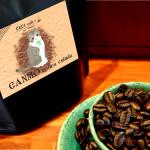 オーダー猫ラベルコーヒー豆です