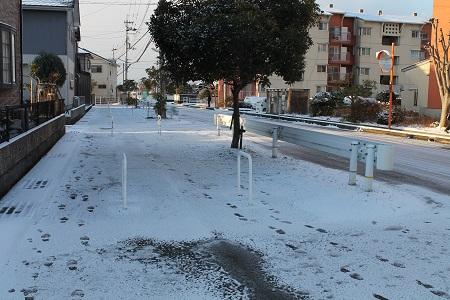 雪積もる2