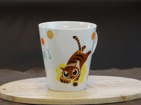 猫オーダーマグカップ2