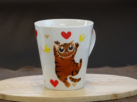 猫オーダーマグカップ3