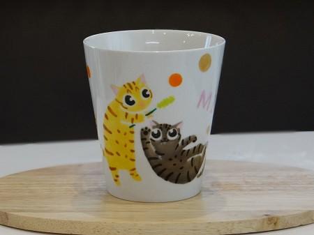 猫オーダーマグカップ1
