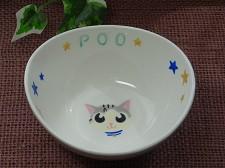 オーダー猫用食器顔2
